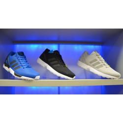 Adidas zx Flux ساده آبی مشکی خاکستری