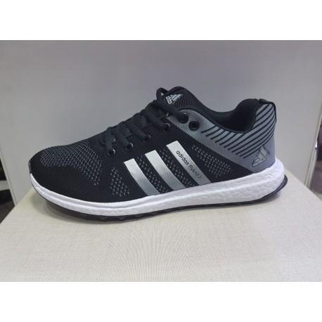 کفش ورزشی آدیداس adidas flyknit 2 مشکی مردانه کتانی کتونی