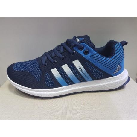 کفش ورزشی آدیداس آبی adidas flyknit2