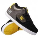 DC shoes black and yellow